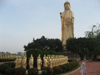 Great Buddha Land in Fo Guang Shan, Taiwan - photo by Rob McFarland