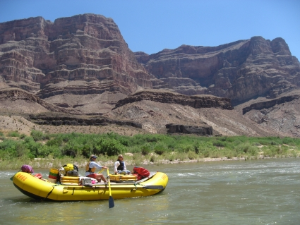 Rafting the Grand Canyon - photo by Rob McFarland