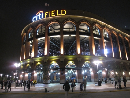 Exterior of Mets' Citi Field Stadium - photo by Rob McFarland