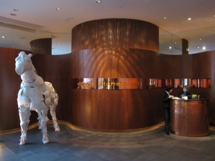 Kitchen restaurant in W Hotel Hong Kong