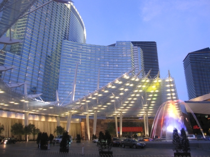 Aria Resort & Casino - photo by Rob McFarland