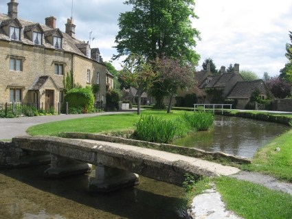 Lower Slaughter in the Cotswolds - photo by Rob McFarland