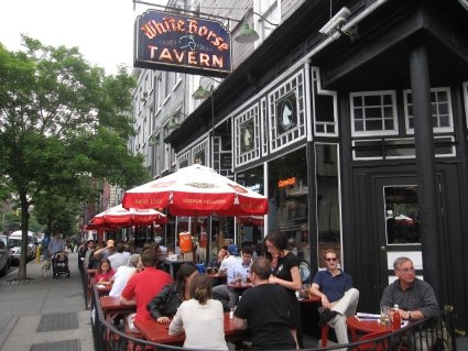 White Horse Tavern in New York's West Village - photo by Rob McFarland