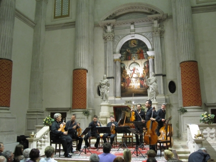 Interpreti Veneziani in San Vidal Church - photo by Rob McFarland