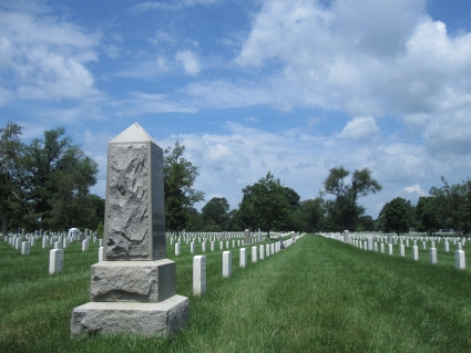 Graves in Arlington Cemetery - photo by Rob McFarland