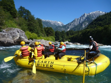 Rafting the Futaleufu River in Patagonia - photo by Rob McFarland