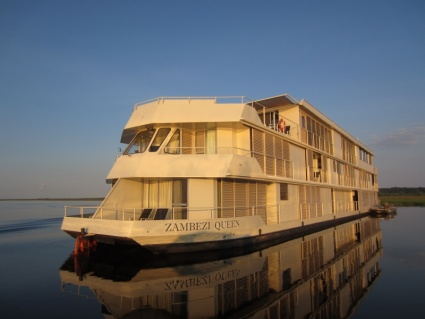 Zambezi Queen on Chobe River - photo by Rob McFarland
