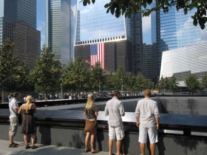 9-11 Memorial - photo by Rob McFarland