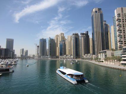 Dubai Marina - photo by Rob McFarland