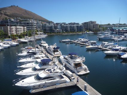View from Cape Grace Hotel in Cape Town - photo by Rob McFarland