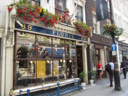 Floris perfumer in London - photo by Rob McFarland