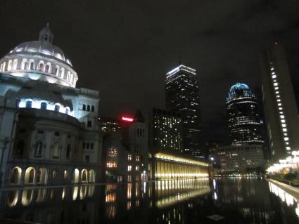 Boston by night - photo by Rob McFarland