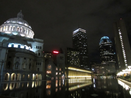 Boston by night - photo by Rob McFarland