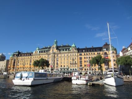Stockholm waterfront - photo by Rob McFarland