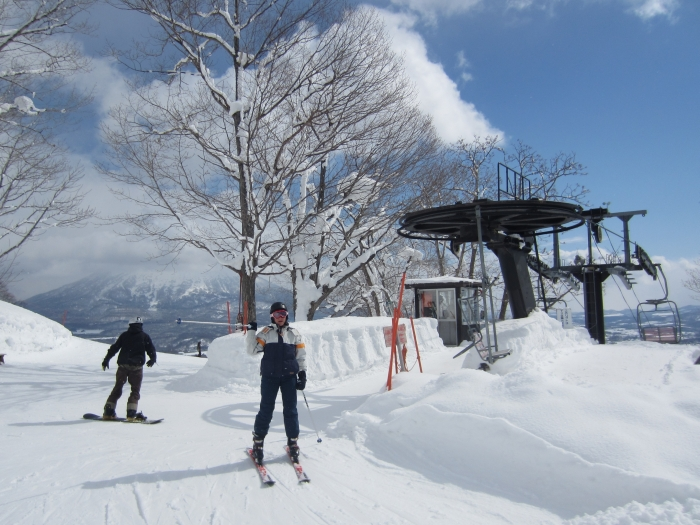 Top of a chairlift in Niseko Village - photo by Rob McFarland