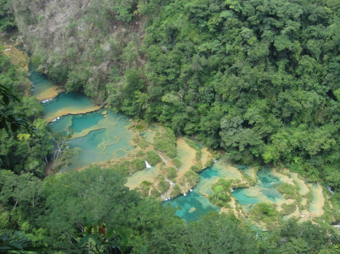 Aerial view of Semuc Champey, Guatemala - photo by Rob McFarland