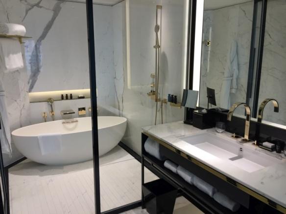 Bathroom at The Murray hotel, Hong Kong - photo by Rob McFarland