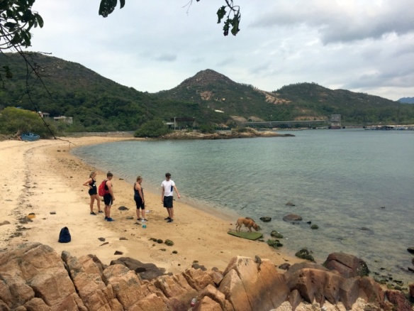 Beach on Lamma Island in Hong Kong - photo by Rob McFarland
