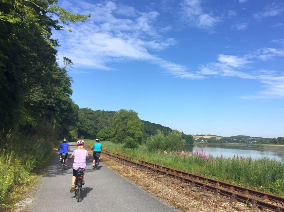 Cycling the Waterford Greenway in Ireland - photo by Rob McFarland