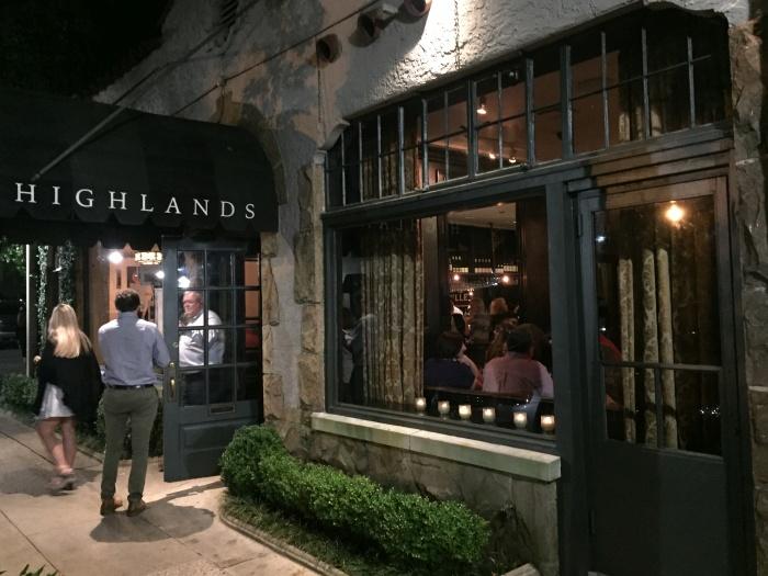 Highlands Bar & Grill in Birmingham, Alabama - photo by Rob McFarland