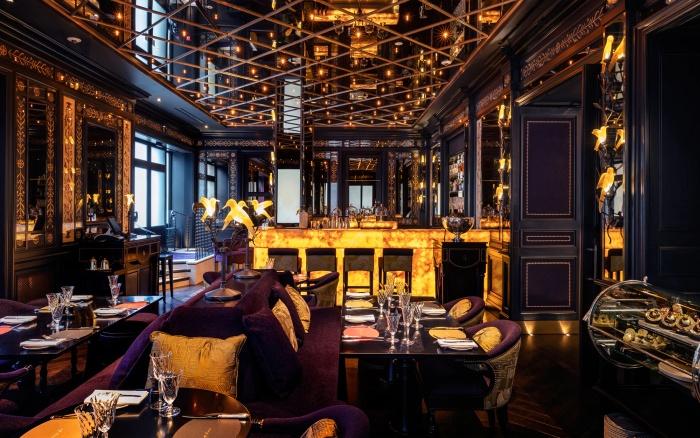 The Bar at L'Oscar hotel in London - photo by L'Oscar
