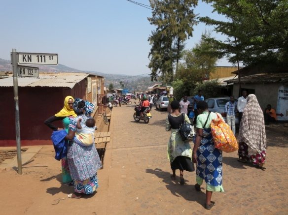 Walking tour of Nyamirambo in Kigali - photo by Rob McFarland