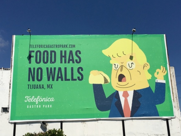 Billboard at Telefonica in Tijuana, Mexico - photo by Rob McFarland