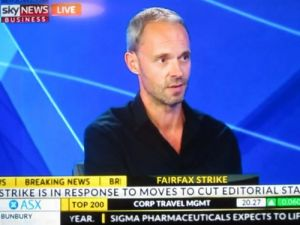 Travel writer Rob McFarland on Sky News Business